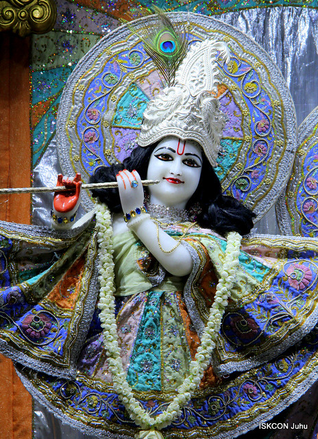 ISKCON Juhu Mangal Deity Darshan on 26th July 2019