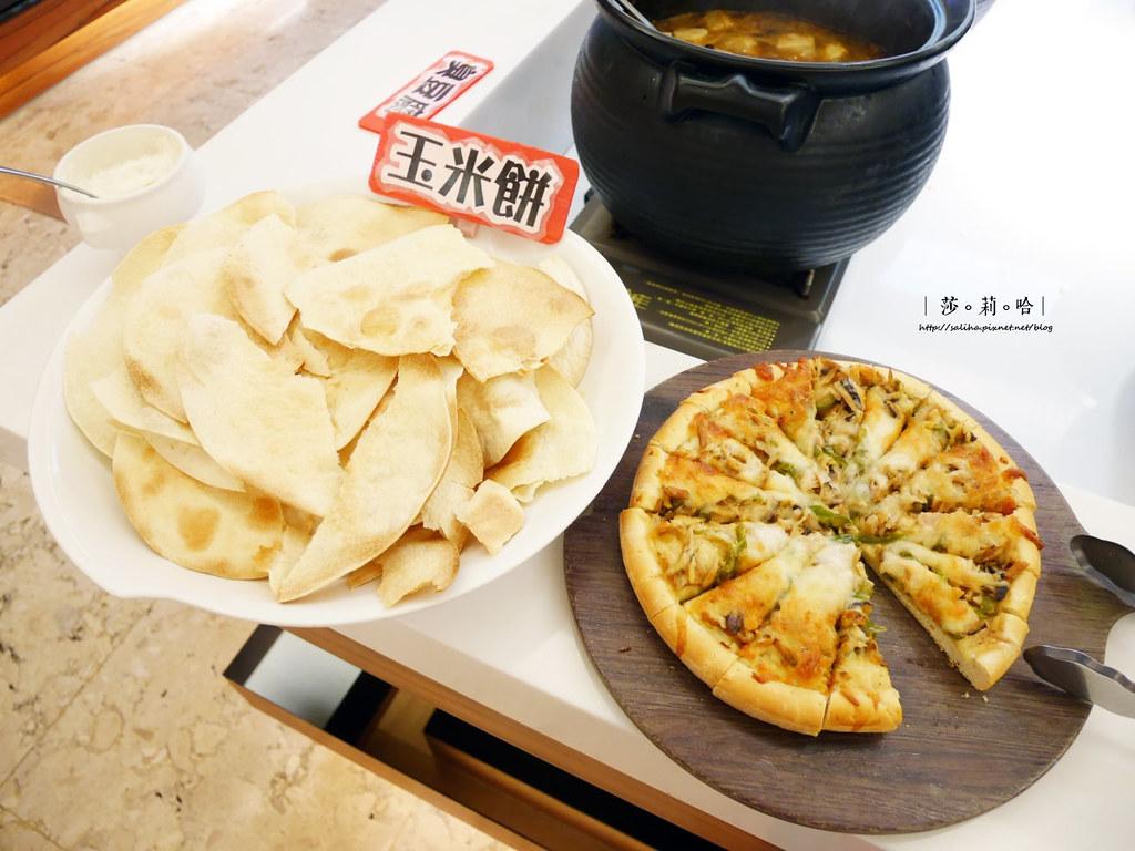 台北蔬食餐廳素食吃到飽推薦蓮池閣歐式自助餐 (12)