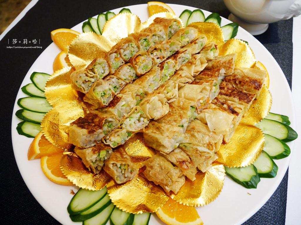 台北大安區信義路信義安和站附近美食素食吃到飽推薦蓮池閣素菜餐廳 (4)