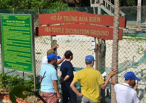 崑崙島國家公園的復育中心。照片來源:越南大自然報網。