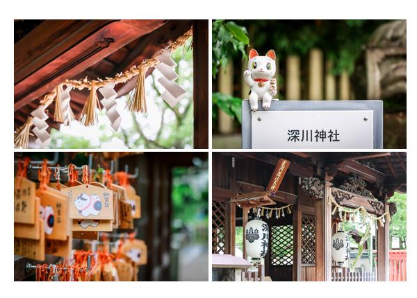 瀬戸市 深川神社 絵馬 陶器のネコ
