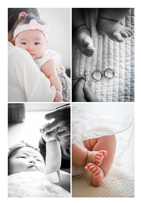 自宅で100日祝い 指輪3つで100を作る