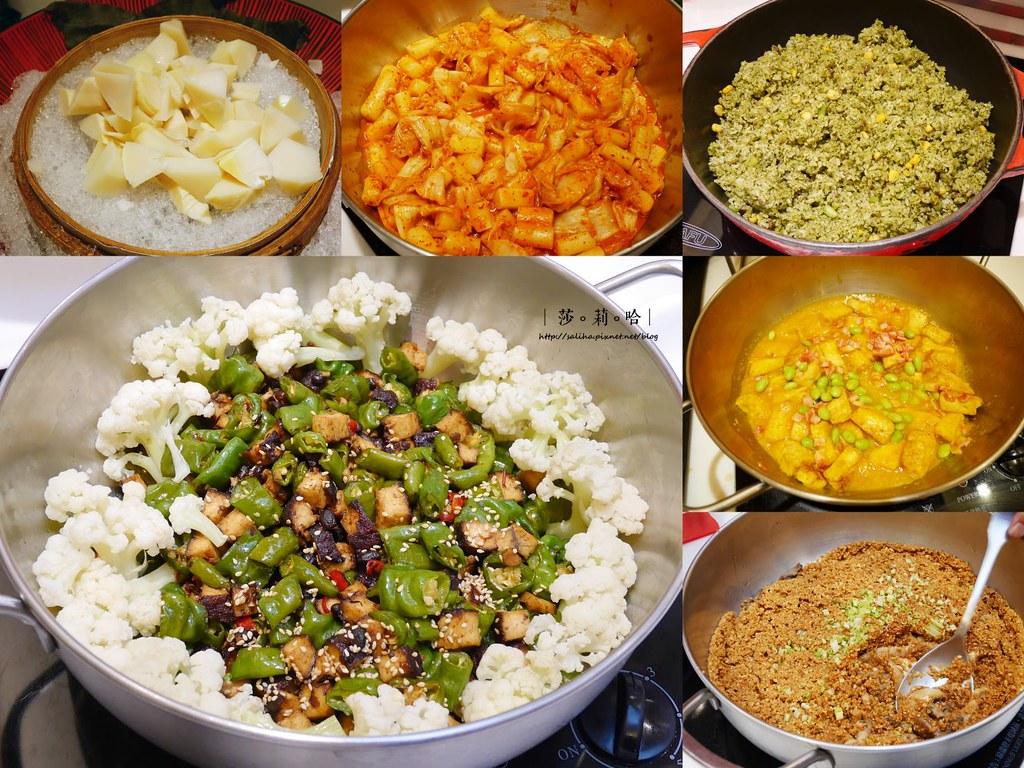 台北素食吃到飽推薦蓮池閣素菜餐廳中式料理熱炒蔬食吃素 (2)