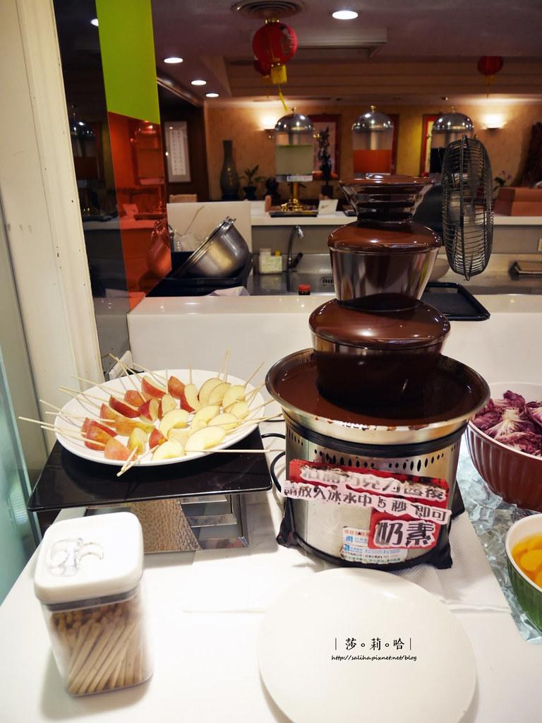 台北蔬食餐廳素食吃到飽推薦蓮池閣歐式自助餐 (1)