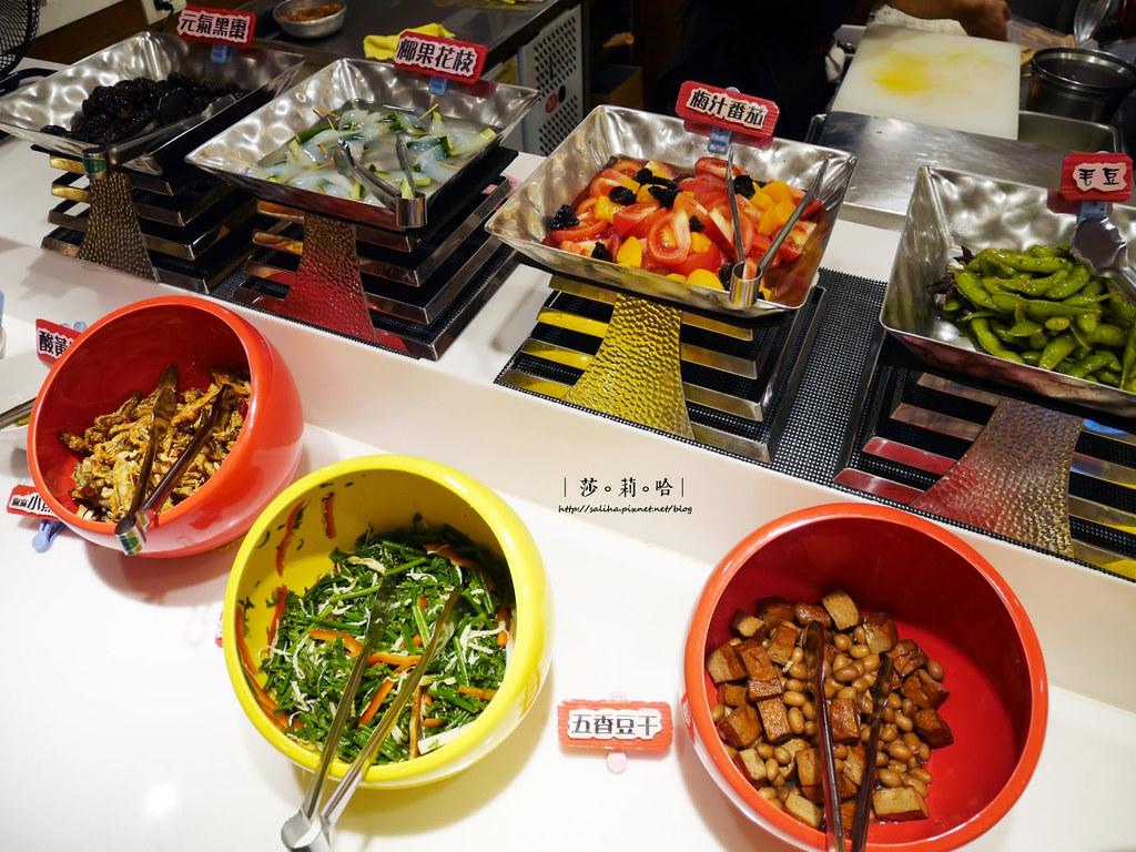 台北素食吃到飽推薦蓮池閣素菜餐廳信義安和站午餐訂位 (2)