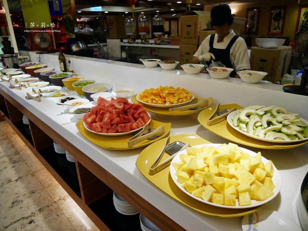 台北大安區信義路附近好吃素食吃到飽推薦蓮池閣素菜餐廳信義安和站 (2)