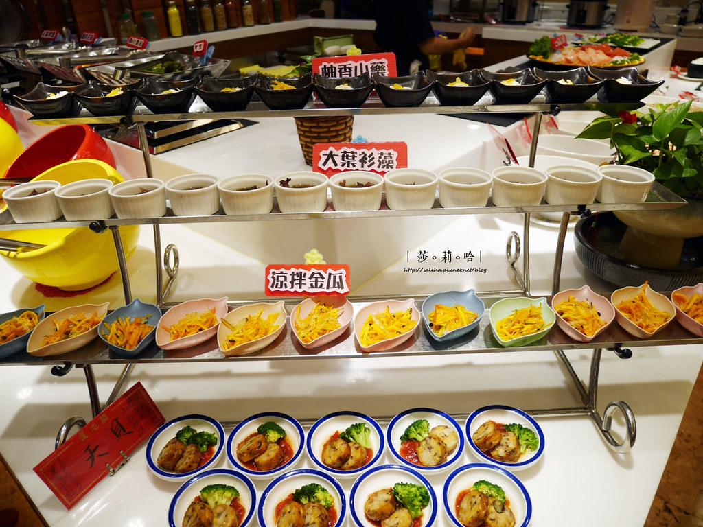 台北大安區信義路附近好吃素食吃到飽推薦蓮池閣素菜餐廳信義安和站 (1)