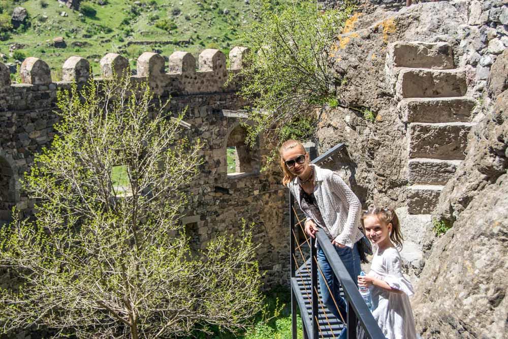Крепость Хертвиси Грузия