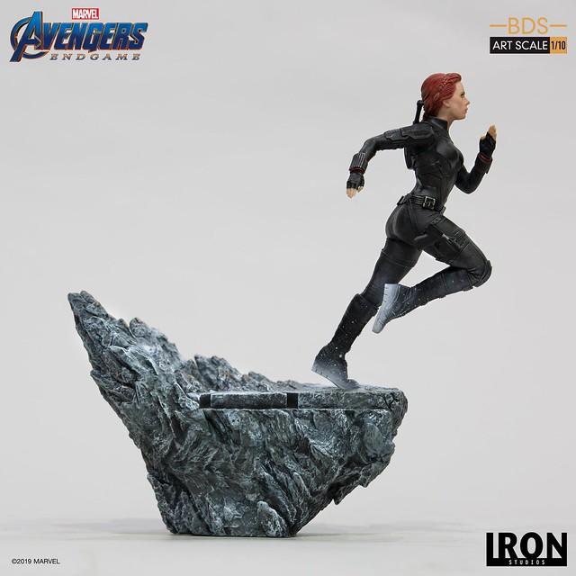 寡姊直奔懸崖,令人鼻酸的身影再現! Iron Studios Battle Diorama 系列《復仇者聯盟:終局之戰》黑寡婦 Black Widow 1/10 比例決鬥場景雕像作品
