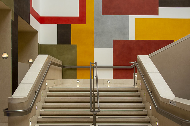 Staircase in Tate Britain