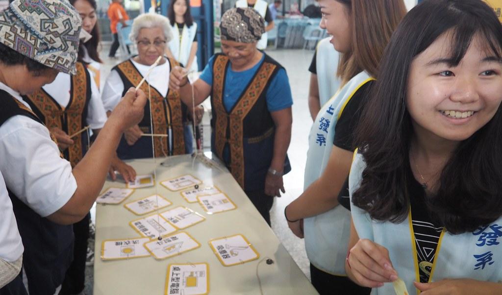 與大學合作,進入部落進行再生能源環境教育。攝影:李育琴。攝影:李育琴