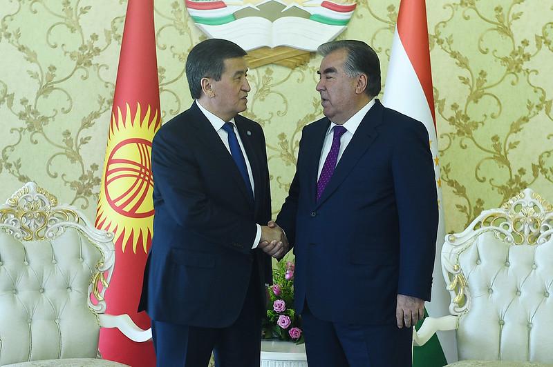 Встреча Глав государств Таджикистана и Кыргызстана
