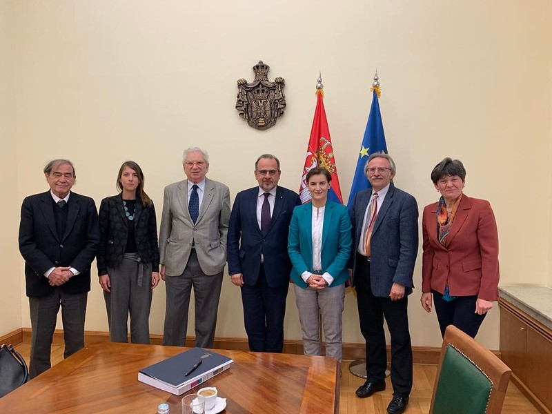 Europa Nostra Delegation meeting with Serbian Minister Ms. Ana Brnabic