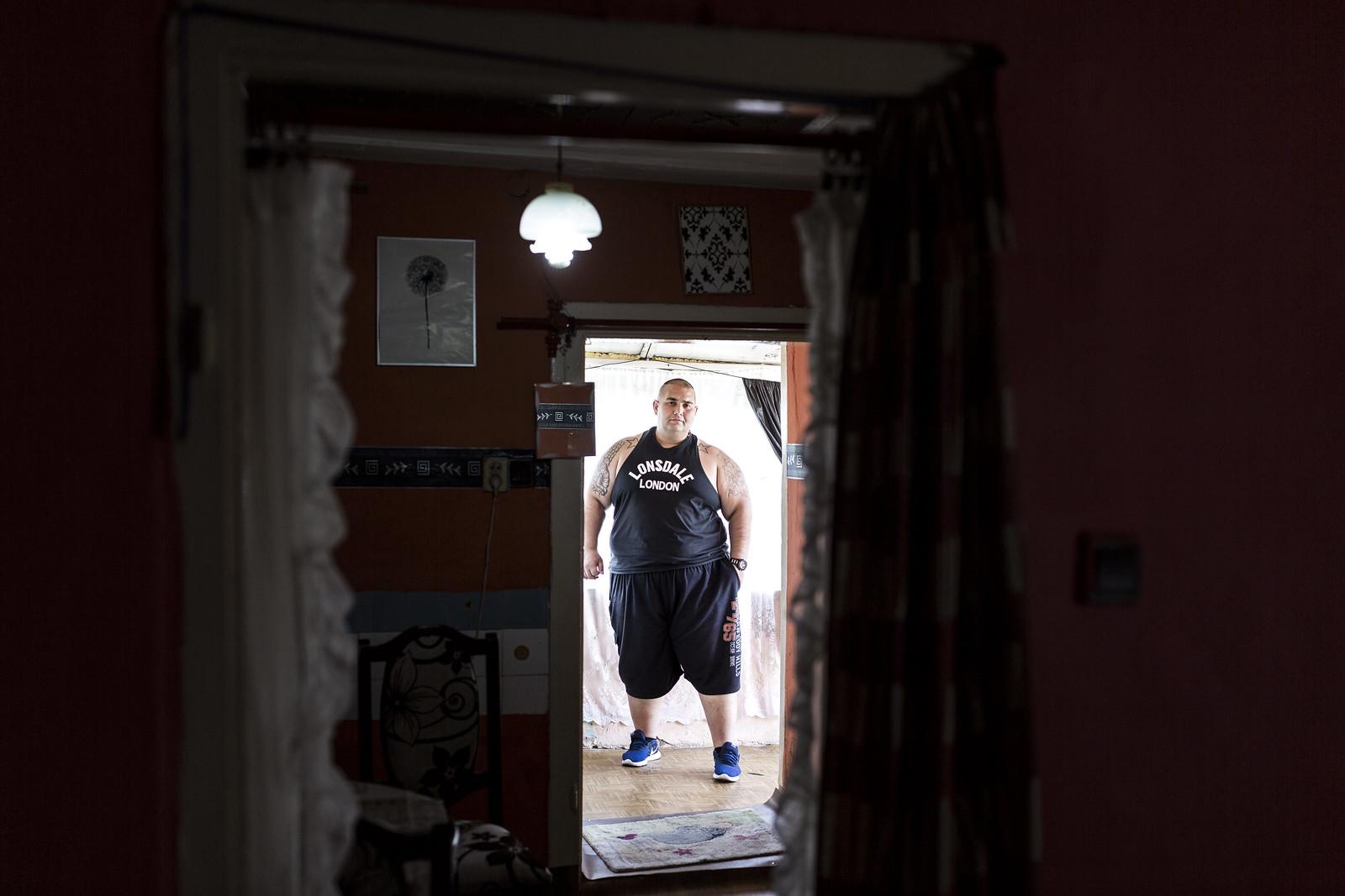 Béci miskolci otthonában | Fotó: Végh László