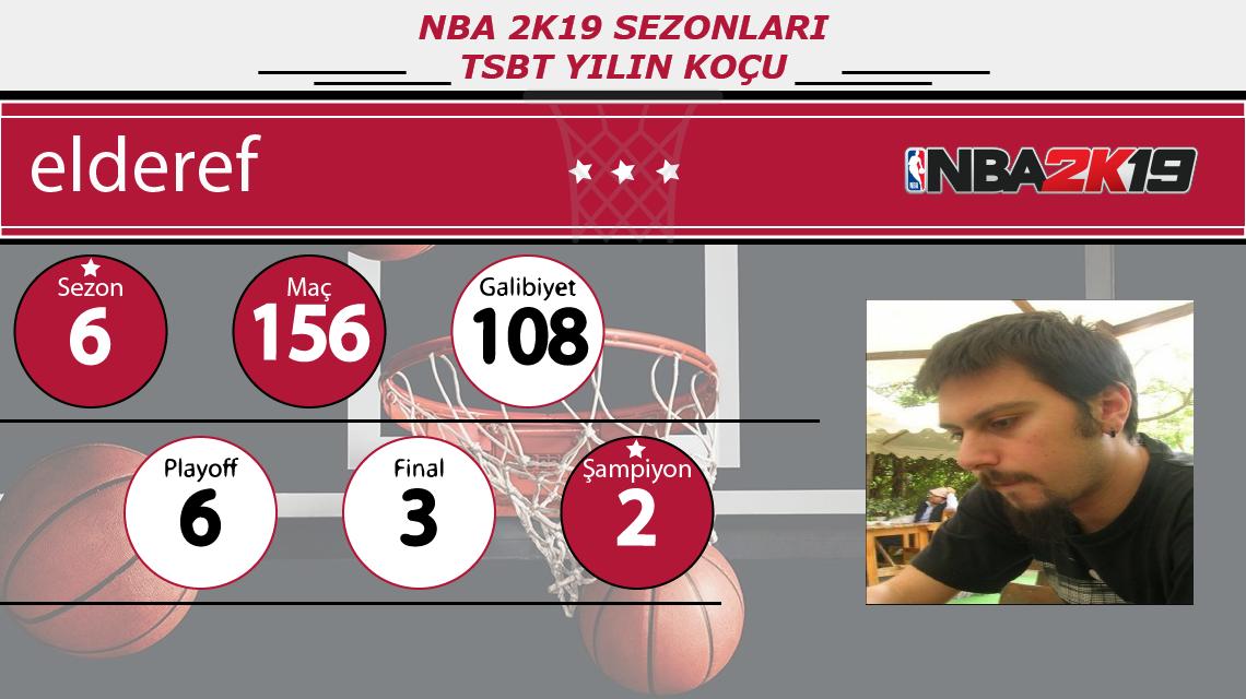 TSBT NBA 2K19 Sezonları Yılın Koçu