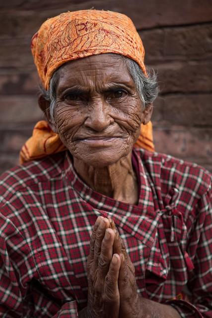 A Venerable Bhaktapur Resident
