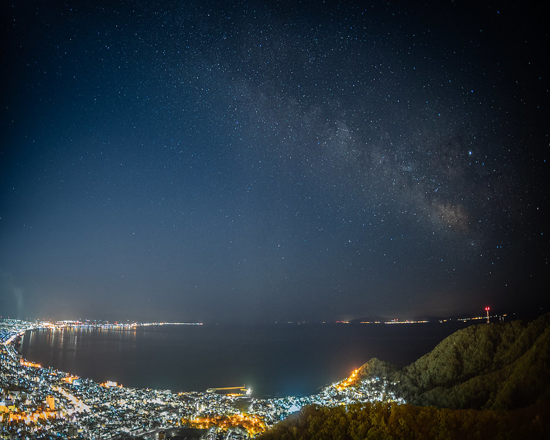 The Night View from Mt. Hakodate 函館山