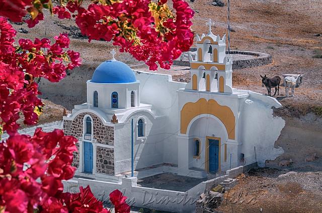 Αγία Παρασκευή Μεγαλοχώρι Σαντορίνης St Paraskevi Megalohori Santorini