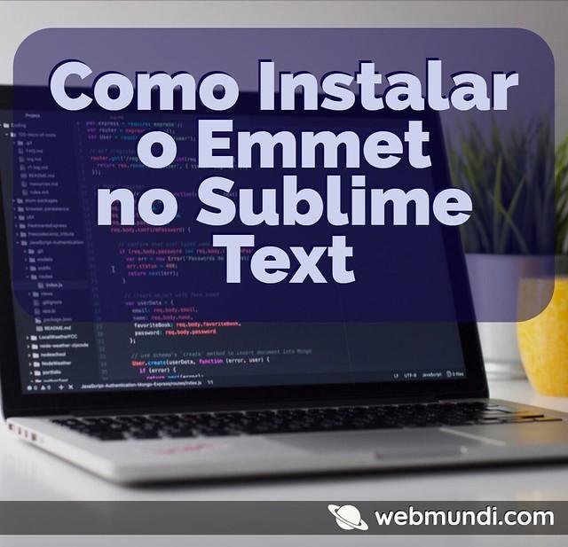 como-instalar-o-emmet-no-sublime-text