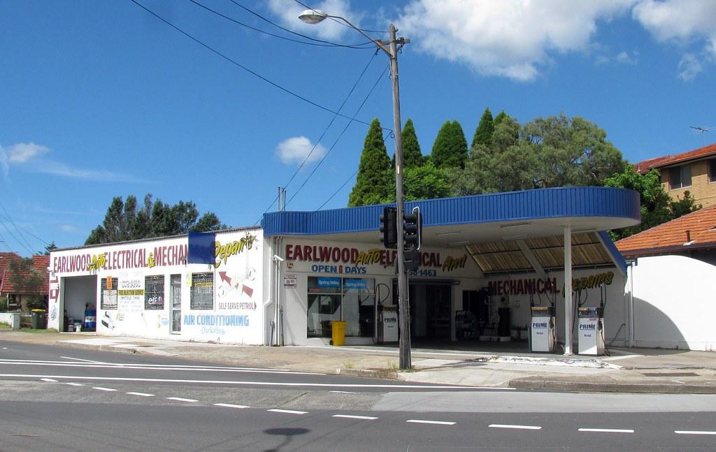 Prime Service Station, Earlwood, Sydney, NSW.