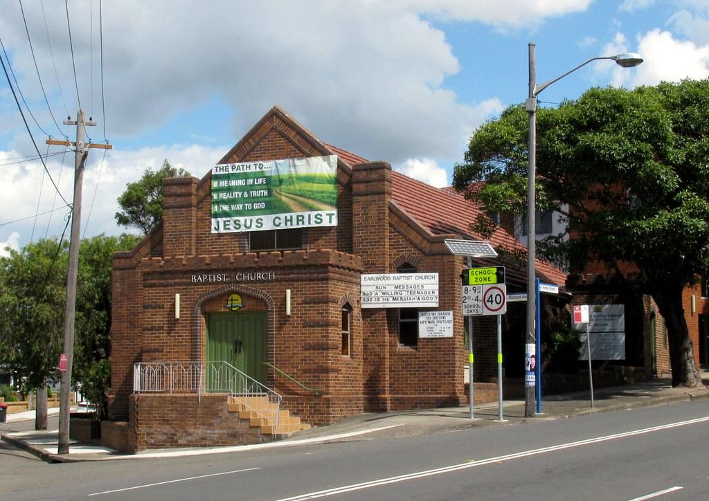 Baptist Church, Earlwood, Sydney, NSW.