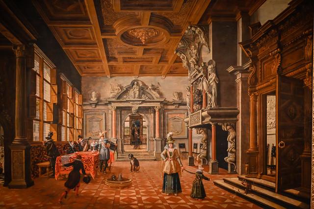 Bartholomeus van Bassen - Return of the Prodigal Son, 1620 at Detroit Institute of Arts - Detroit MI