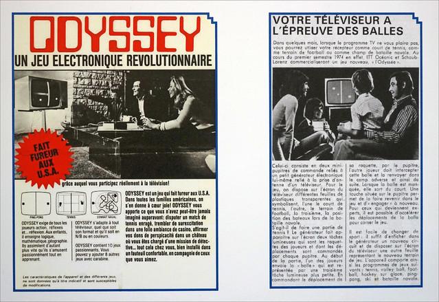 Publicités pour Odyssey, la première console de jeu (Pixel Museum, Schiltigheim)