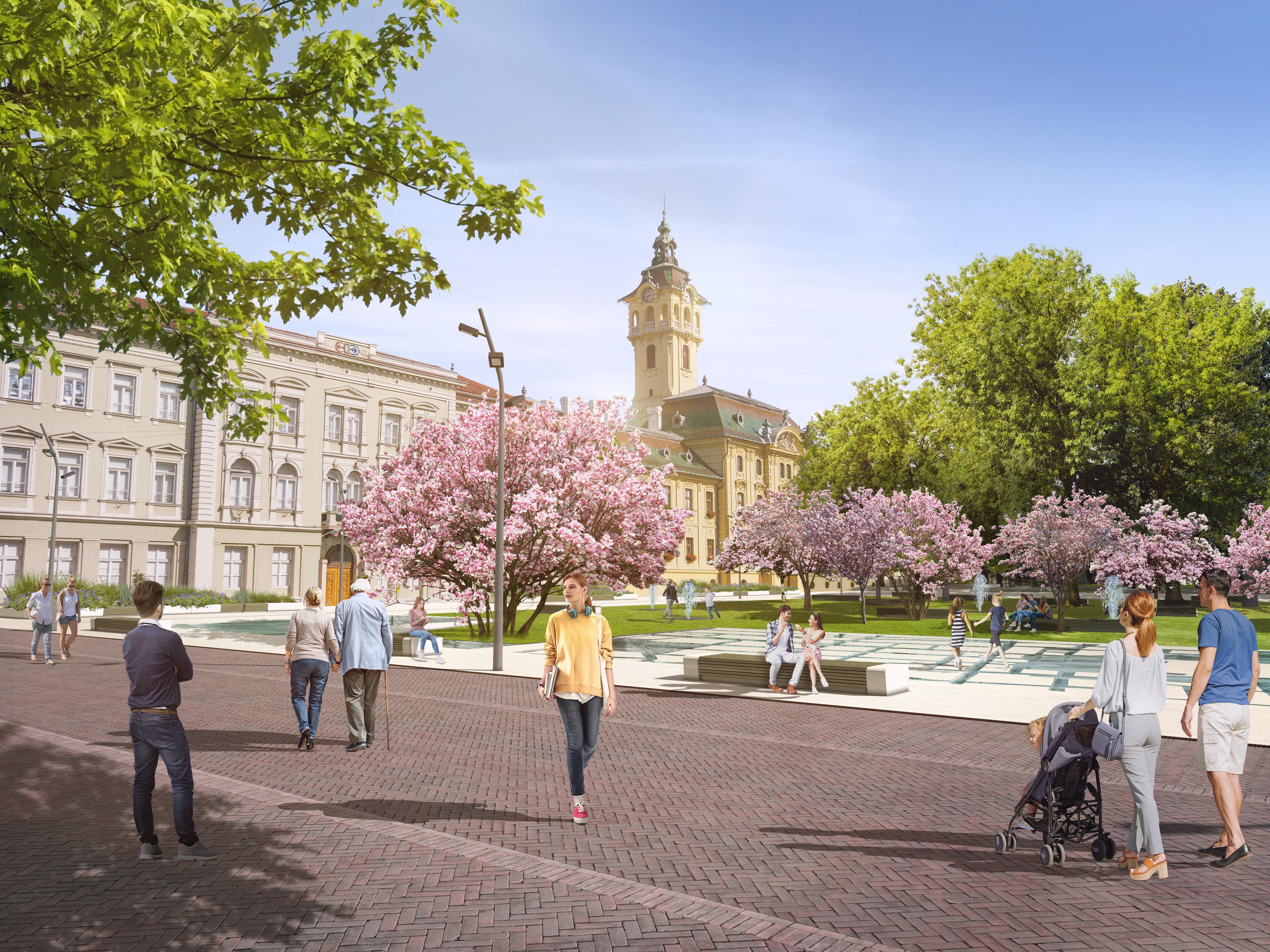 Teljesen átszabták a Széchenyi tér terveit, itt vannak a legújabb látványtervek