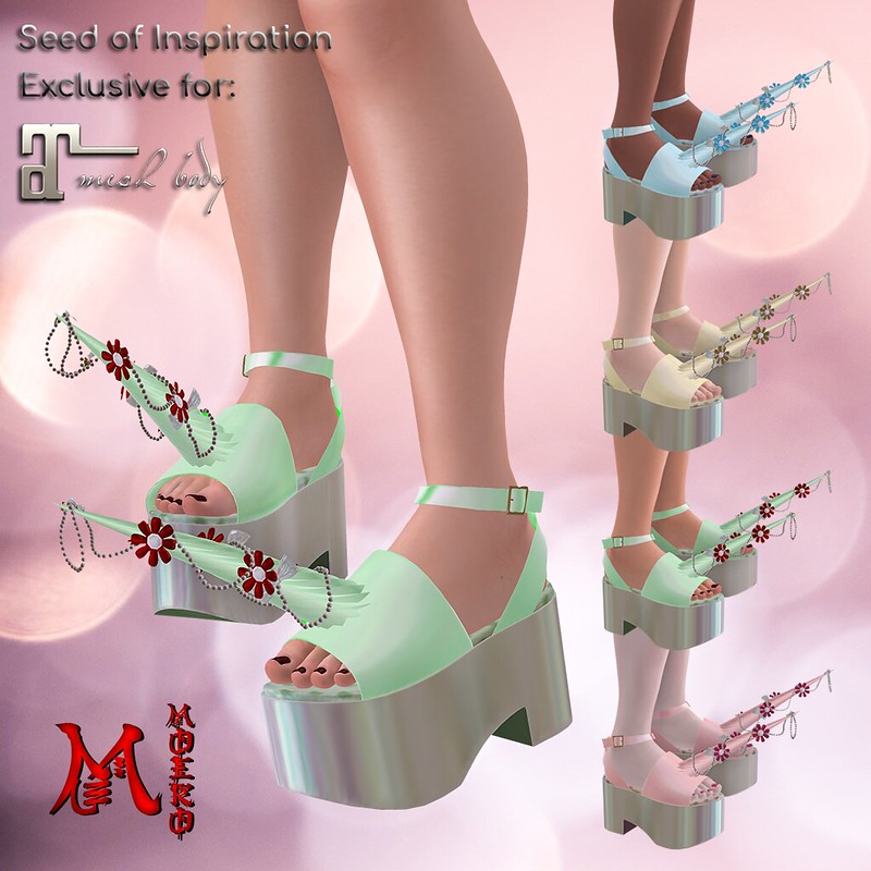 MOEKO Seed of Inspiration Unicorn Daisy Unicorn Shoes
