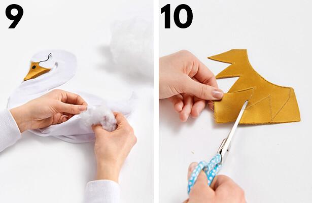 Swan DIY STEPS 9 10