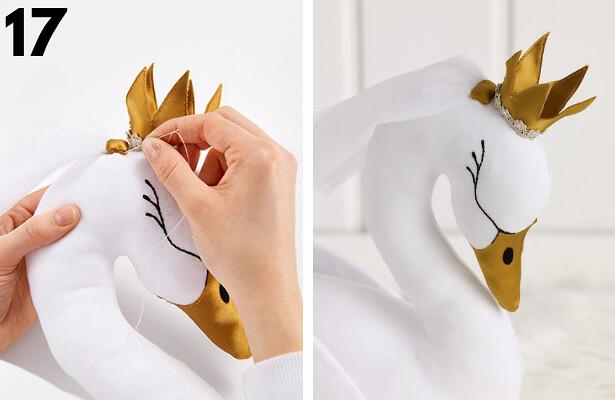 Swan DIY STEP 17