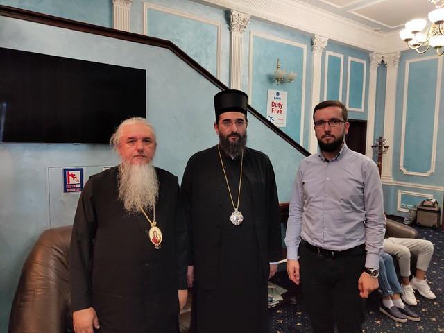 Зустріч представника Сербської церкви єпископа Арсенія
