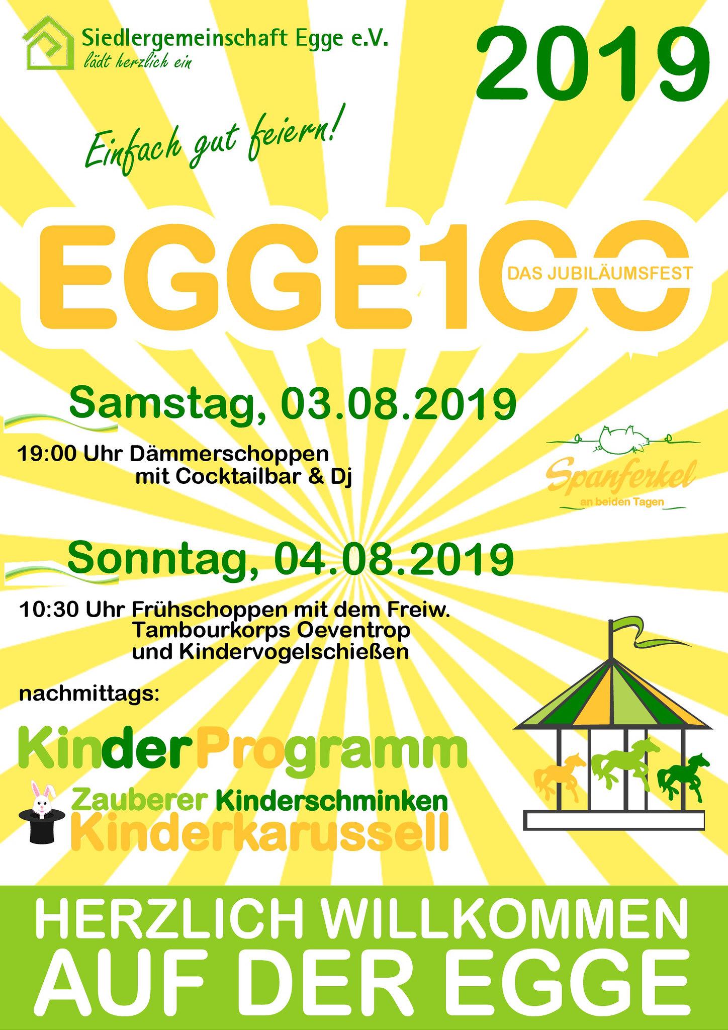 Eggesiedlung 100 Jahre Sommerfest