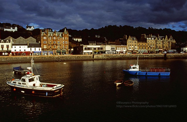 Oban, last light