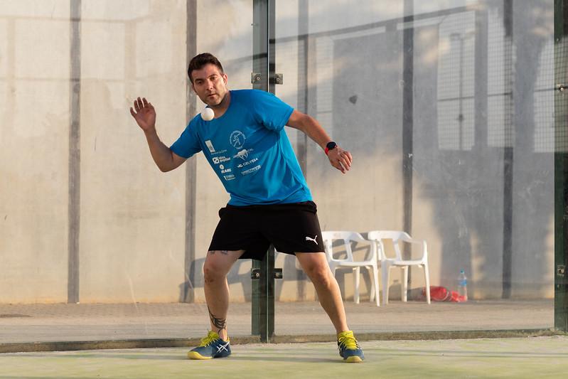 Xatet III de l'equip Amics de la Ribera, serà un dels jugadors que disputarà el torneig. Foto: Ulisses Ortiz