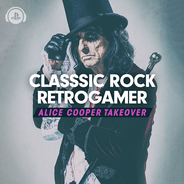Alice Cooper Classic Rock Retrogamer Takeover