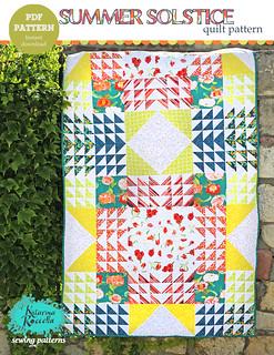 summer solstice quilt pattern