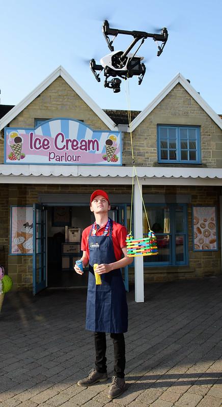 LEGOLAND Windsor Ice Cream Drone