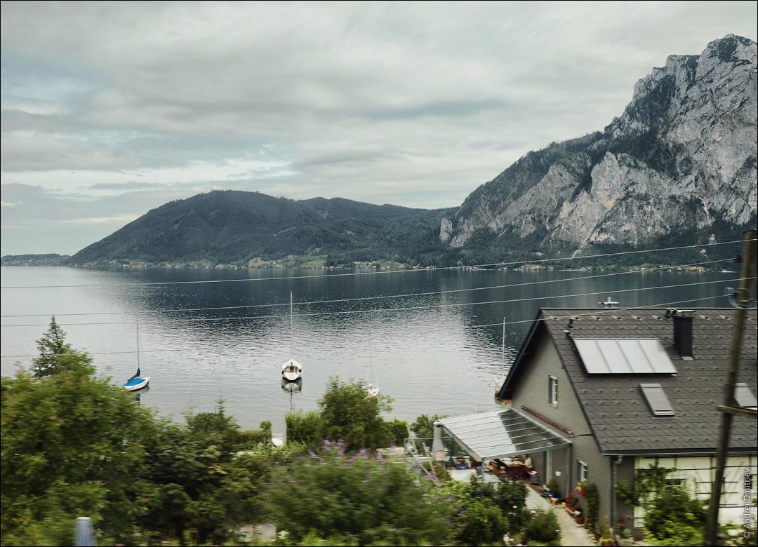 Озеро Траунзе, Австрия