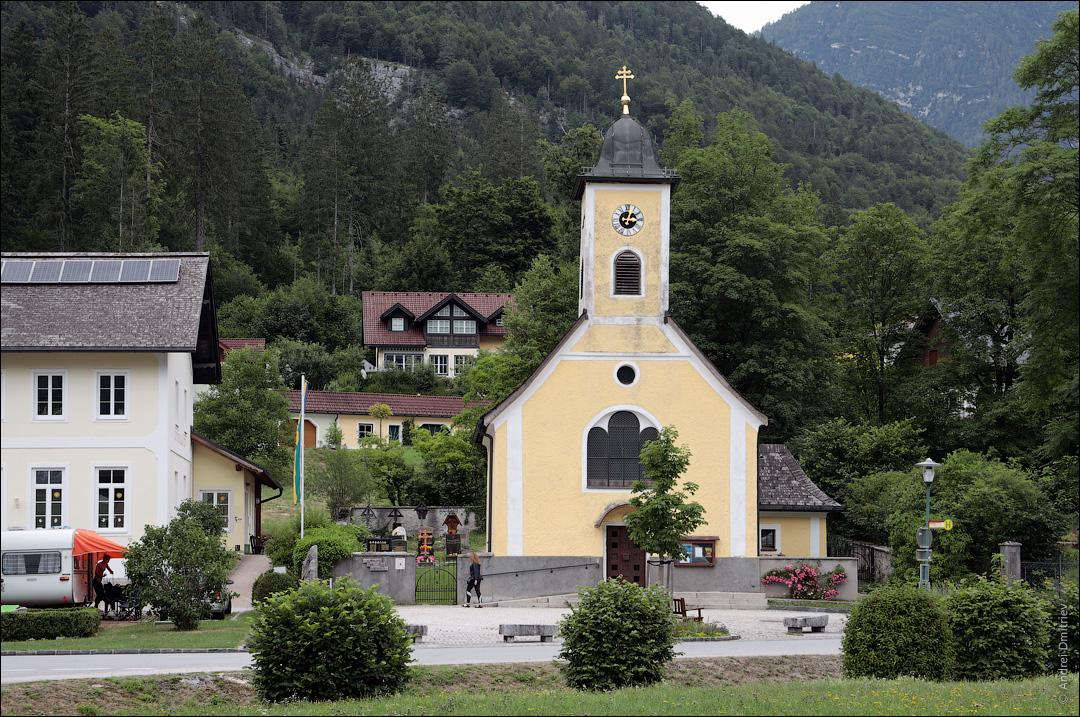 Обертраун, Австрия