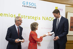 Carcedo entrega a Pau Gasol el Premio de Especial Reconocimiento de la Estrategia NAOS (26/07/2019)