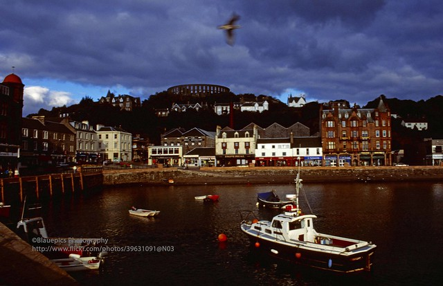 Oban, harbour