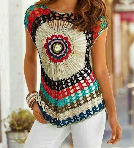 blouse crochet pattern