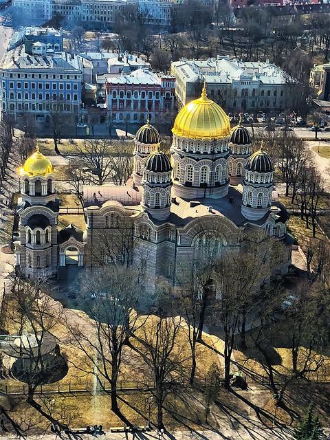 Orthodox Cathedral church in Riga