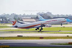 Surinam Airways PZ-TCR Airbus A340-313X cn/242 @ Aalsmeerbaan EHAM / AMS 12-09-2017