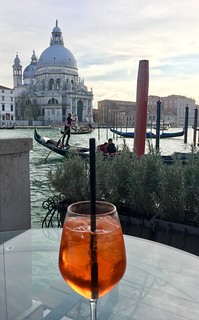 Spritz on the Grand Canal Venice
