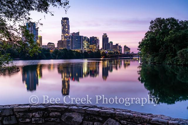 Austin Lou Neff Sunrise Reflection