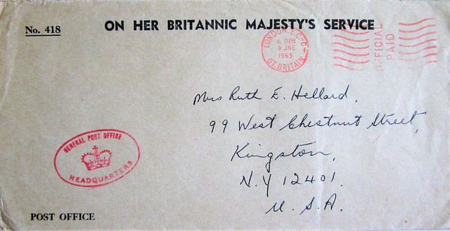 On Her Britannic Majesty's Service 0584