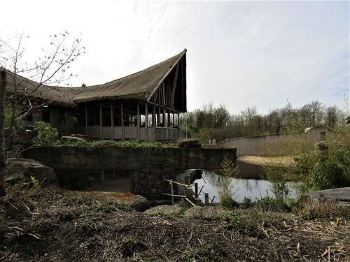 Viewing platform in Zoo Planckendeal