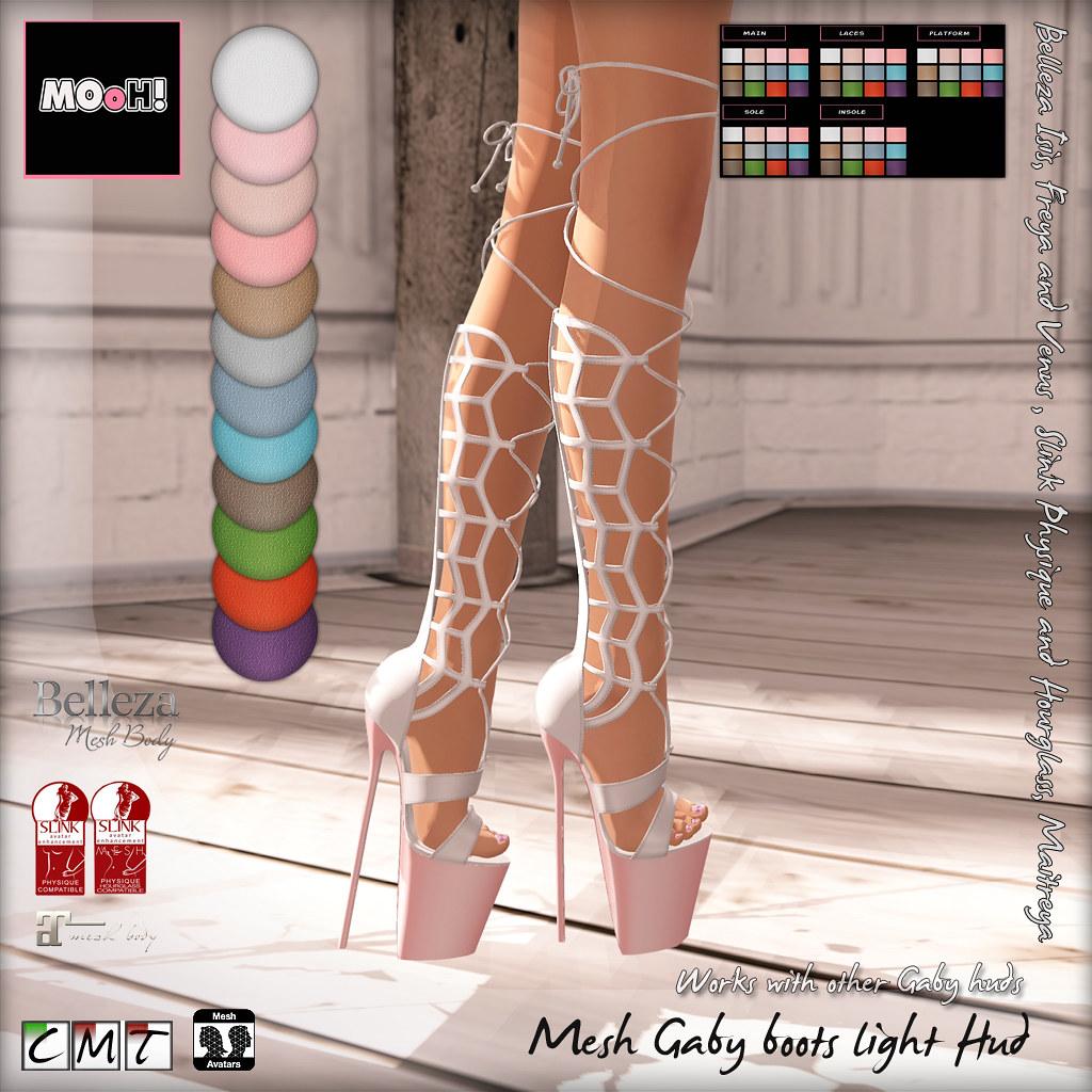 Gaby boots light hud - TeleportHub.com Live!